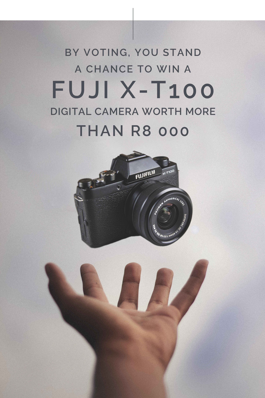 Win a Fuji X-T100